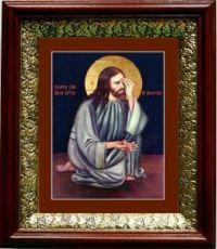 Плач Христа об убиенных младенцах (19х22), темный киот
