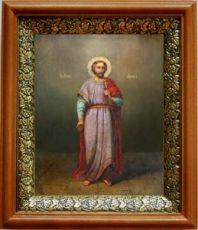 Адриан Никомидийский (19х22), светлый киот