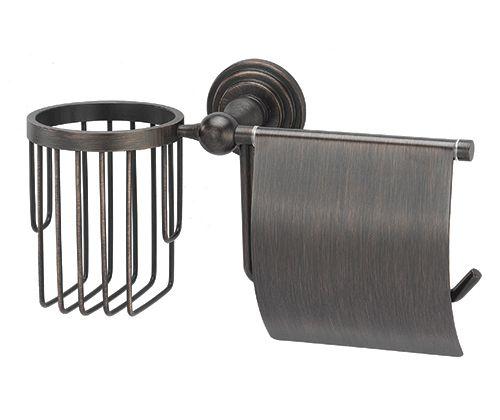 WasserKRAFT Isar K-7359  Держатель туалетной бумаги и освежителя