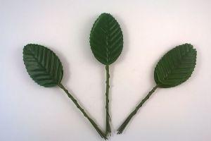 Листик. 10 см. Цвет темно-зеленый (1 упаковка = 10*10 шт)