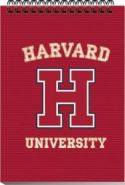 "Блокнот на спирали А5 60л кл ""Harvard-Red"" Premiera {Россия} (09550)"