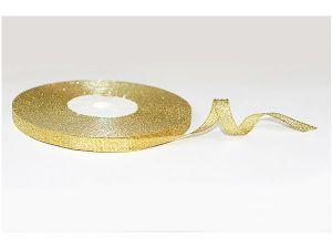 Лента металлизированная. Цвет золото 3 мм (Рулон 100 ярдов = 91 метр)