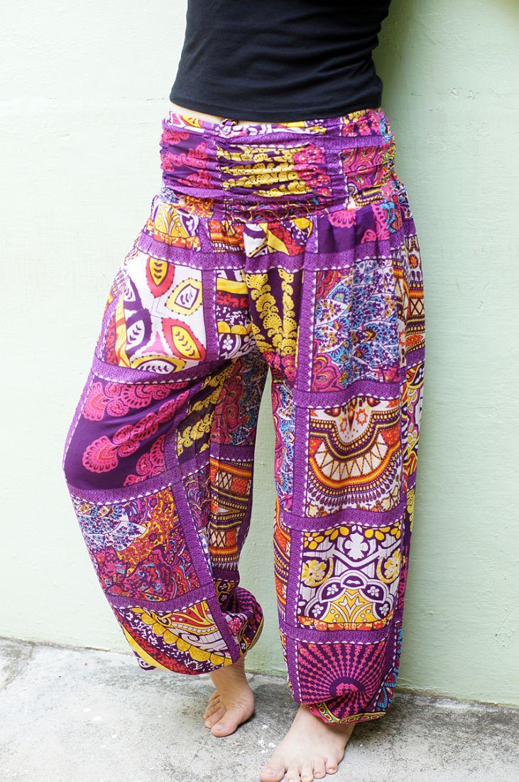 Женские этнические штаны