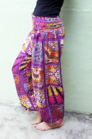 Женские этнические штаны фиолетового цвета, Москва