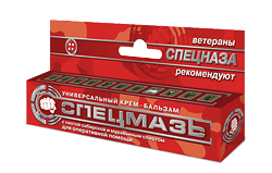 Универсальный крем-бальзам СПЕЦМАЗЬ с пихтой сибирской и муравьиным спиртом