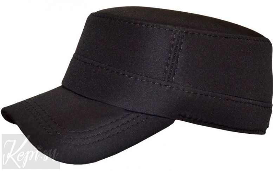 Конфедератка (фуражка из плащевки, цвет черный).