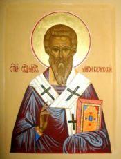 Икона Мирон Кизический (рукописная)