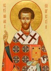 Тимофей Прусский (рукописная икона)