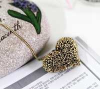 "Корейский кулон - ожерелье ""Сердце"""