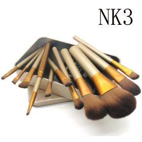 Профессиональные кисти для макияжа 12 штук