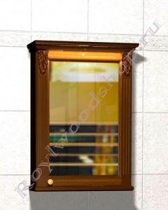 """Зеркало-шкаф """"Челси-2 УОРВИК-60 орех"""""""