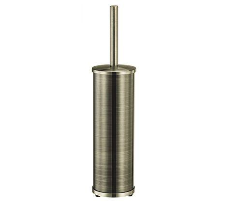 """WasserKraft Exter K-5200  Щетка для унитаза напольная, покрытие """"светлая бронза"""""""