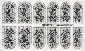 Наклейки для ногтей NFM 012
