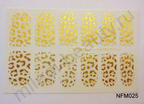 Наклейки для ногтей NFM 025