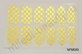 Наклейки для ногтей NFM 049