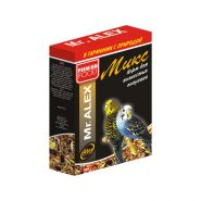 Mr. ALEX Корм для волнистых попугаев Микс (500 г)