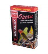 Mr. ALEX Корм для средних и мелких попугаев Орех (500 г)