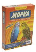 ЖОРКА Корм для волнистых попугаев Фрукты (500 г)