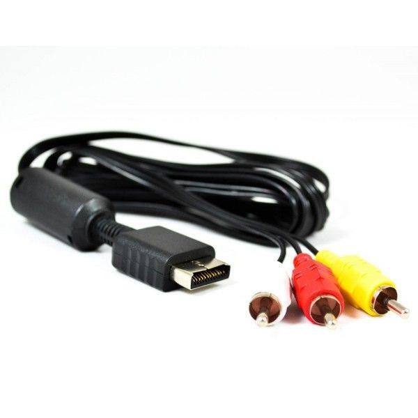 AV- кабель тюльпаны для PS3 и PS2