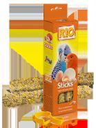 RIO Палочки для всех видов птиц с яйцом и ракушечником (2*40 г)