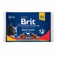 """Brit Premium Meat Plate Набор """"Мясная тарелка"""" (4х100 г)"""