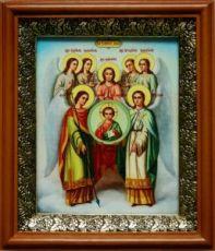 Собор архангела Михаила (19х22), светлый киот
