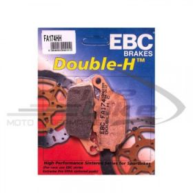EBC Тормозные колодки FA174HH DOUBLE H Sintered задние