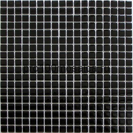Super black стекло 15*15. Мозаика серия CRYSTAL, размер, мм: 300*300 (BONAPARTE)