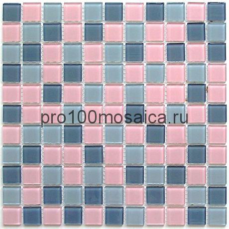 Set mix стекло 25*25. Мозаика серия CRYSTAL, размер, мм: 300*300 (BONAPARTE)