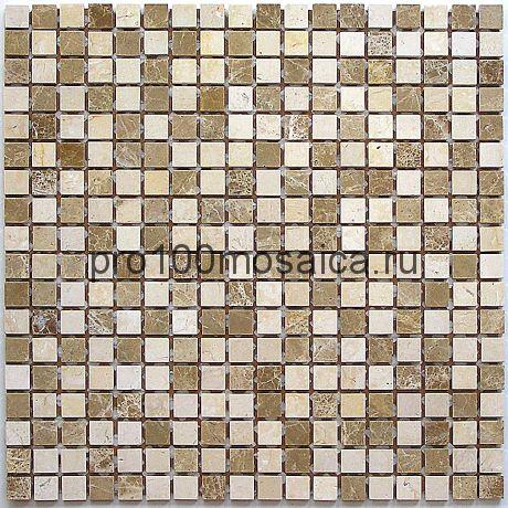 Sevilla 15 slim (matt) 4 мм, камень. Мозаика серия STONE,  размер, мм: 305*305 (BONAPARTE)
