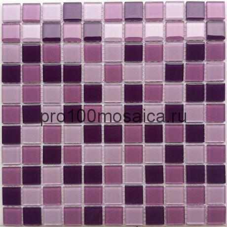 Vialet стекло 25*25. Мозаика серия CRYSTAL, размер, мм: 300*300 (BONAPARTE)