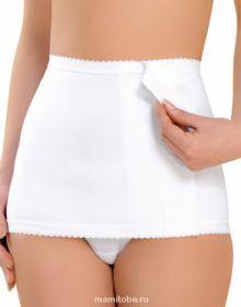 Бандаж послеродовой - юбка утягивающий (0746), белый