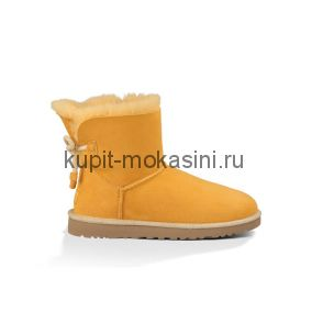 Mini Bailey Bow Selene Yellow - Угги мини с бантиком Selene Желтые
