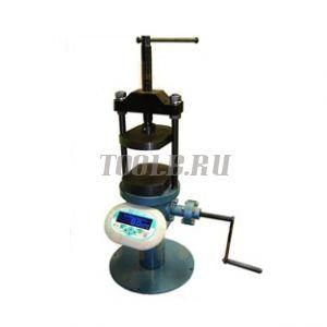 Пресс ПРГ-1-50 (50кН/5т) с электронным манометром