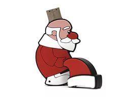 32GB USB-флэш накопитель Apexto Дед Мороз, OEM