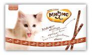 Мнямс Лакомые палочки для кошек с говядиной и печенью (10х5 г)