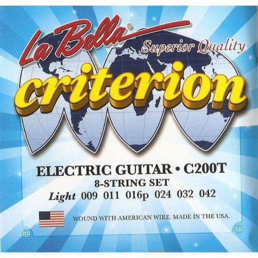 LA BELLA C200T (009-042) Струны для электрогитары