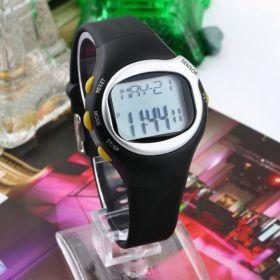 Часы для спортивных упражнений с функцией определения пульса и калорий