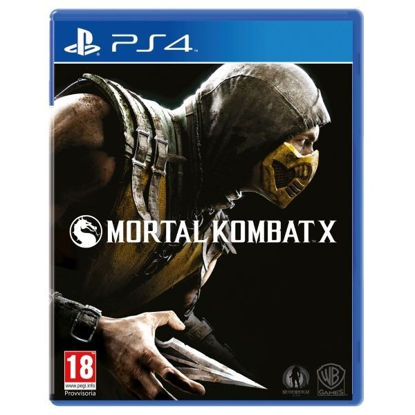 Игра Mortal Kombat X (PS4)