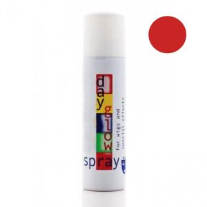 Лак для волос флуоресцентный красный