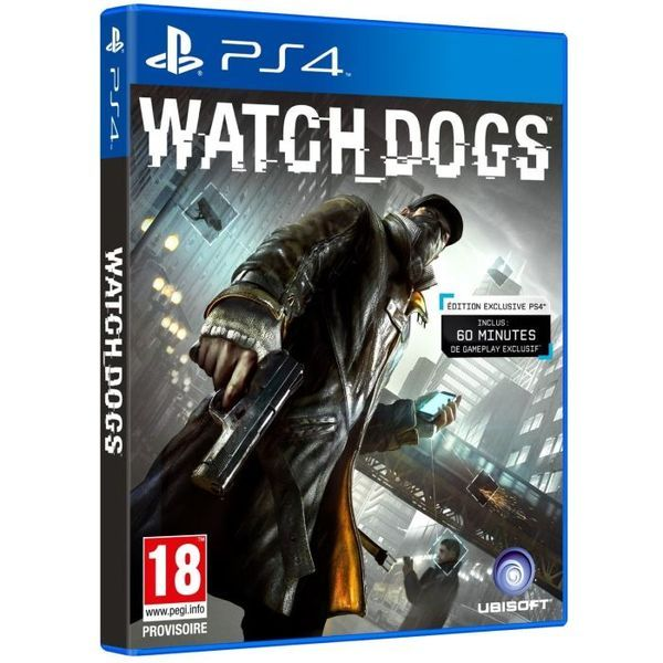 Игра Watch Dogs (PS4)
