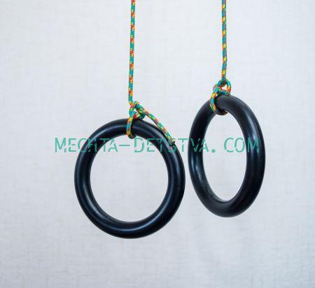 Кольца гимнастические пластмассовые