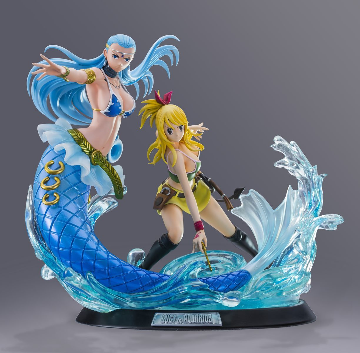 Фигурка Fairy Tail: Lucy Heartfilia & Aquarius