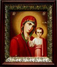 Венчальная пара 9. Казанская икона БМ (19х22)