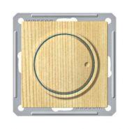Диммер универсальный поворотно-нажимной (600Вт, сосна)