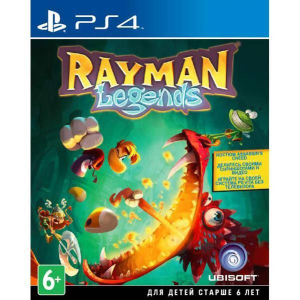Игра Rayman Legends (PS4)