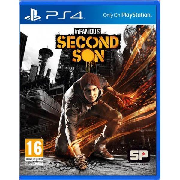 Игра Infamous Второй Сын (PS4)