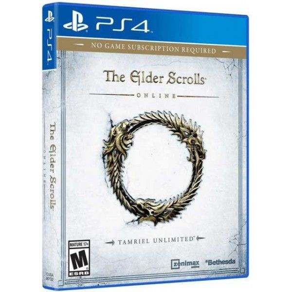 Игра The Elder Scrolls Online : Tamriel Unlimited (PS4)