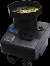 Счетчик монет с увеличенным загрузочным бункером Cassida C550