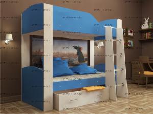 Кровать двухъярусная Астра-2